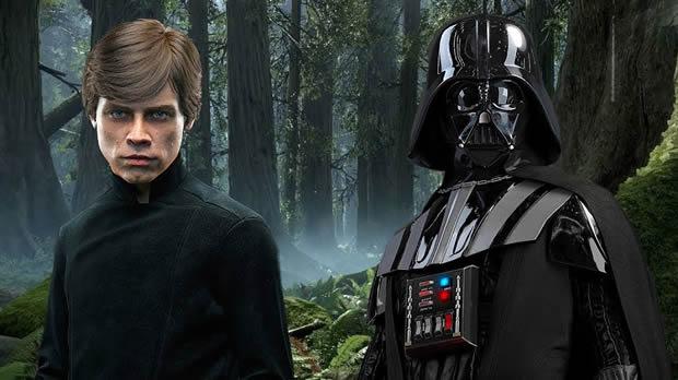 Luke e Darth Vader - Julio Costa Neto